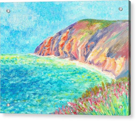 By The Sea Acrylic Print