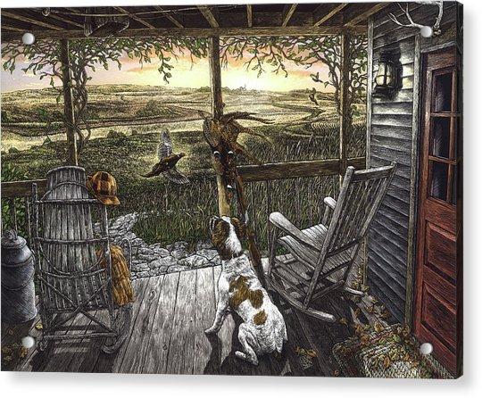 Cabin Fever Acrylic Print