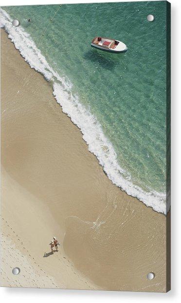 Caleta Beach, Acapulco Acrylic Print