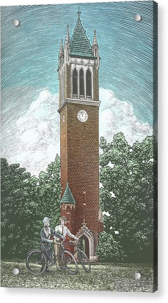 Campanile 1928 Acrylic Print