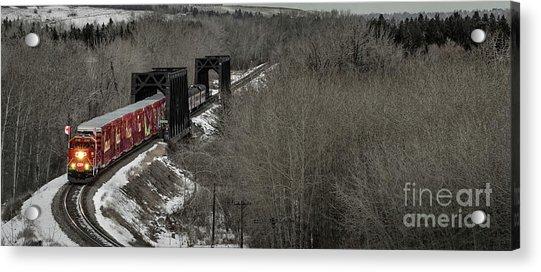 Canadian Pacific Holiday Train 2018 I Acrylic Print