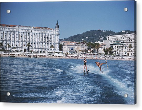 Cannes Watersports Acrylic Print