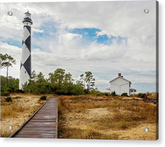 Cape Lookout Lighthouse No. 2 Acrylic Print