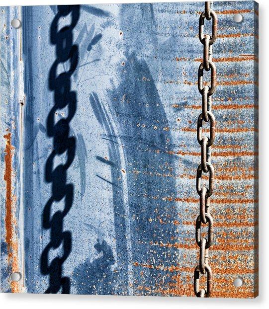 Chain Shadow Acrylic Print
