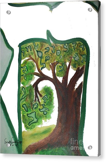 Chet, Tree Of Life  Ab21 Acrylic Print