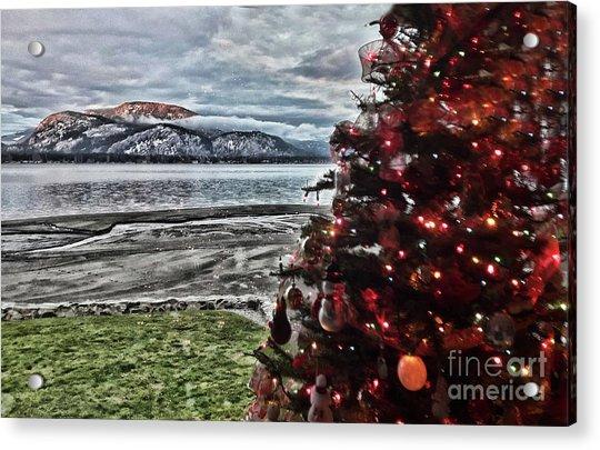 Christmas View Acrylic Print