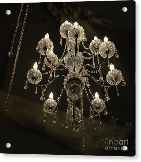 Chrystal Lights Acrylic Print