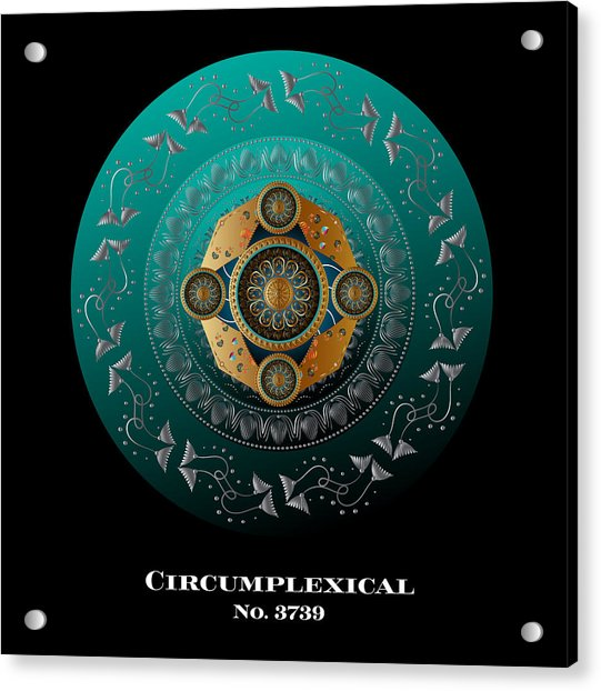 Circumplexical No 3739.1 Acrylic Print