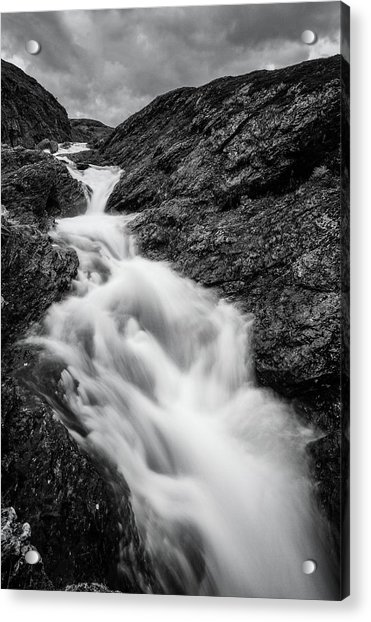 close to Ygnisdalselvi, Norway Acrylic Print