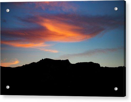 Cloud Over Mt. Boney Acrylic Print