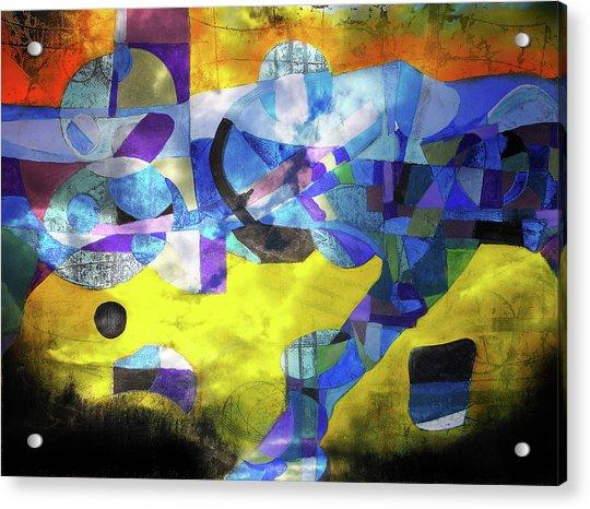 Cold Evening Wind Acrylic Print