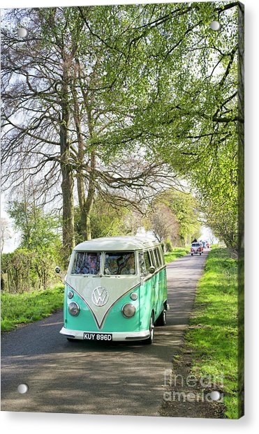 Convoy In The Countryside Acrylic Print
