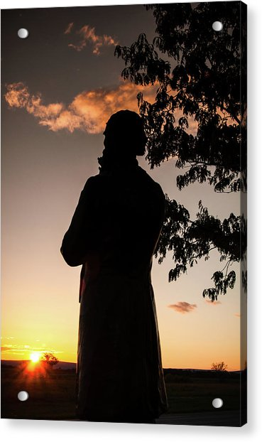 Corby At Sunset Acrylic Print
