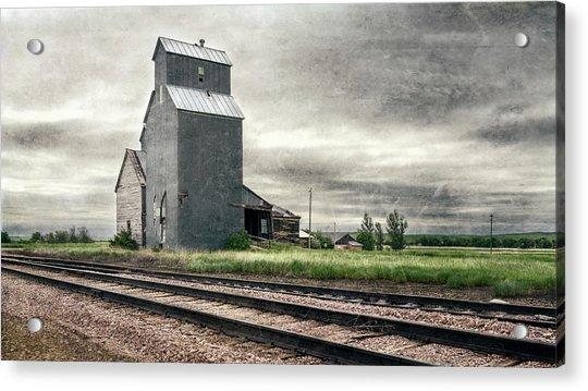 Cottonwood South Dakota Grain Elevator IIi Acrylic Print