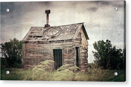 Cottonwood South Dakota Jail II Acrylic Print