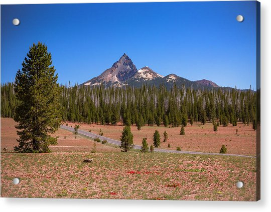 Crater Lake Np - Lightening Rod Of The Cascades Acrylic Print