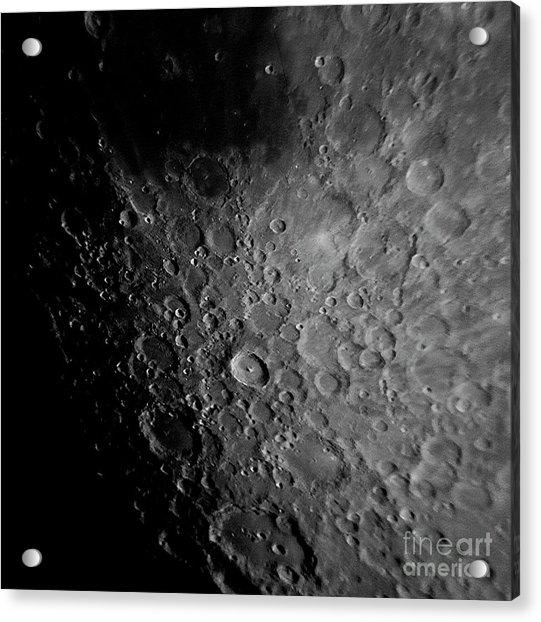 Crater Tyco Acrylic Print