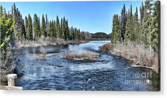 Crooked River Acrylic Print