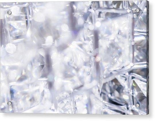 Crystal Bling II Acrylic Print