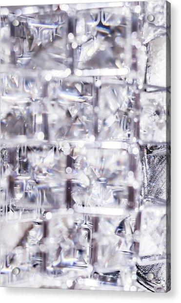 Crystal Bling Iv Acrylic Print