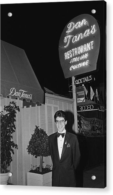 Dan Tanas Los Angeles Restaurant To The Acrylic Print by George Rose