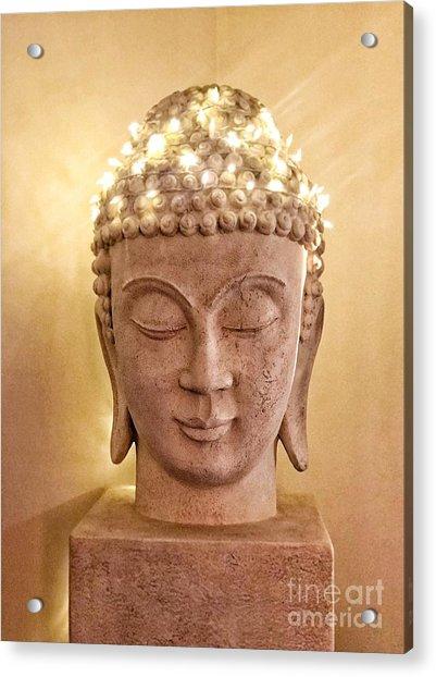 Dawn Buddha  Acrylic Print