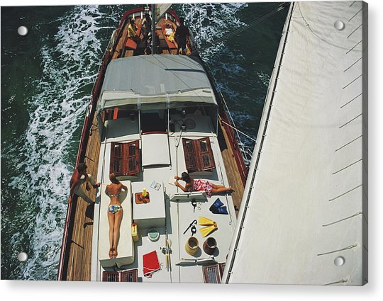 Deck Dwellers Acrylic Print