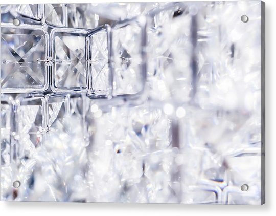 Diamond Shine I Acrylic Print