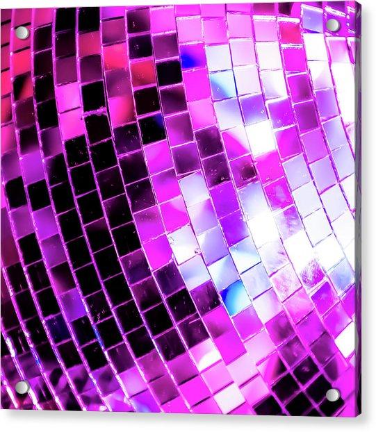 Disco Ball 1 Acrylic Print