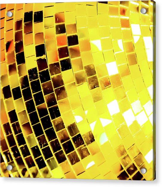 Disco Ball 3 Acrylic Print