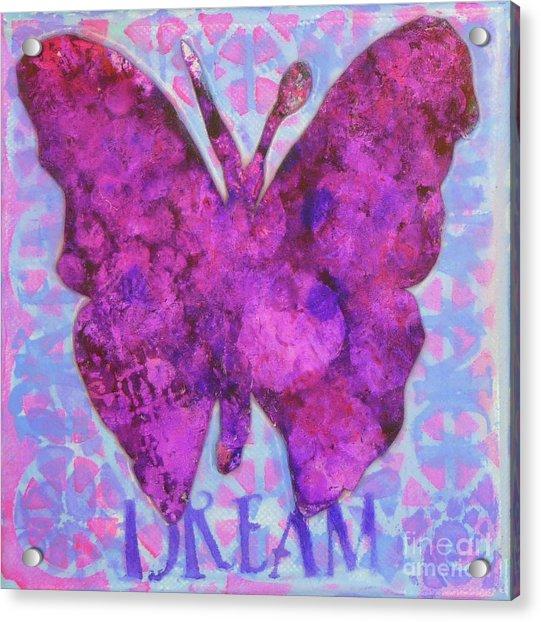 Dream Butterfly Acrylic Print