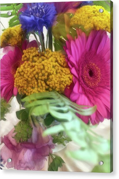 Dreamy Bouquet Acrylic Print
