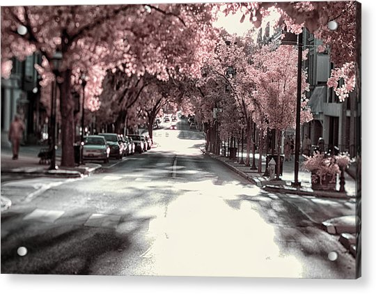 Empty Street Acrylic Print