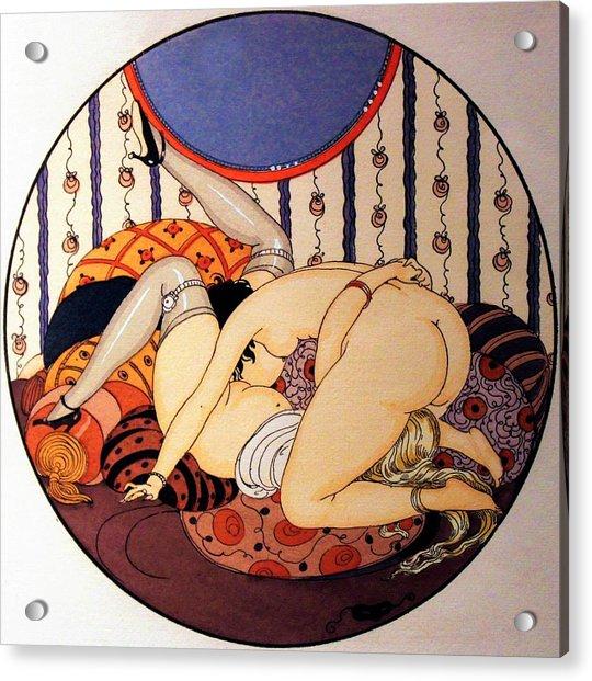 Eros Pleasure 06 - Digital Remastered Edition Acrylic Print