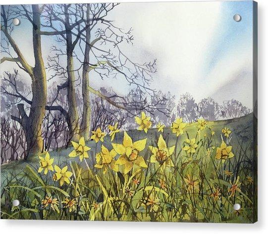 Field Of Hope At Burton Agnes Acrylic Print