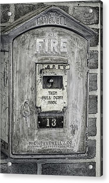 Firebox Acrylic Print