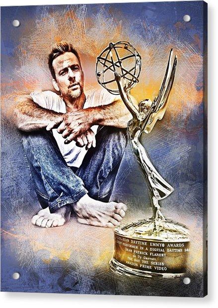 Flanery Won Emmy Acrylic Print