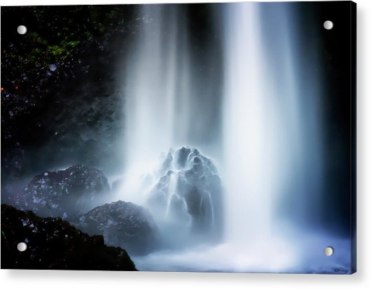 Force Of Water Acrylic Print