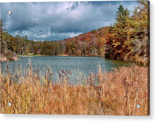 Framed Lake Acrylic Print