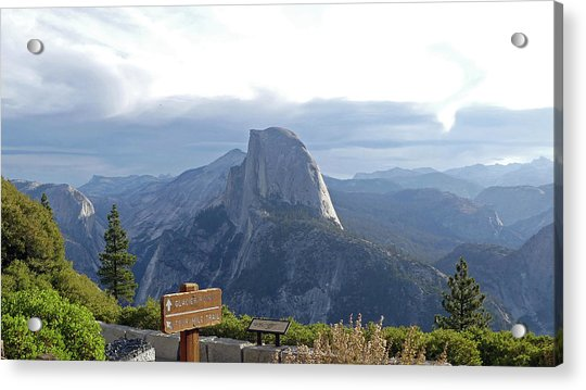 Glacier Point Acrylic Print