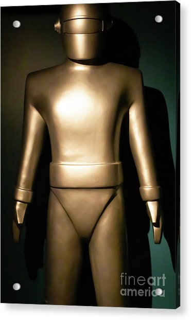 Gort The Humanoid Robot The Day The Earth Stood Still R1041 Acrylic Print