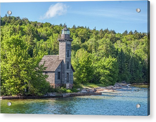 Grand Island East Channel Lighthouse, No. 2 Acrylic Print