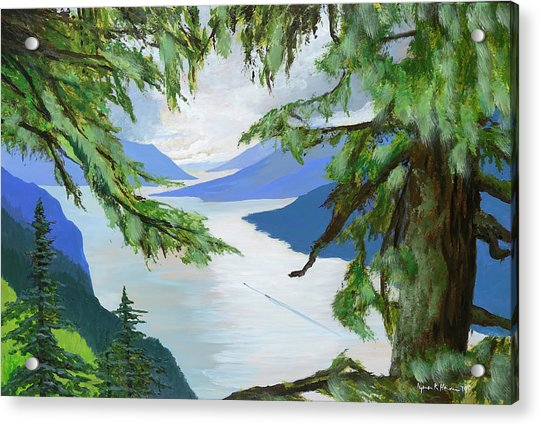 Guided Through The Fjords Acrylic Print