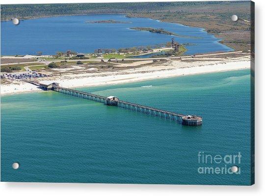 Gulf State Park Pier 7464n Acrylic Print