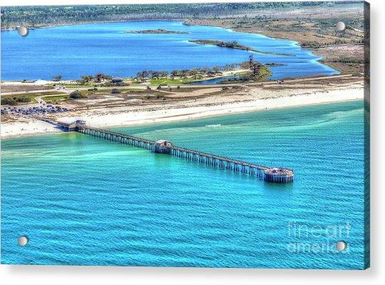 Gulf State Park Pier 7464p3 Acrylic Print