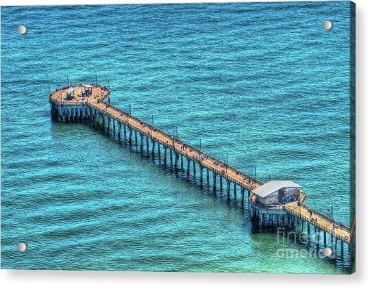 Gulf State Park Pier Acrylic Print