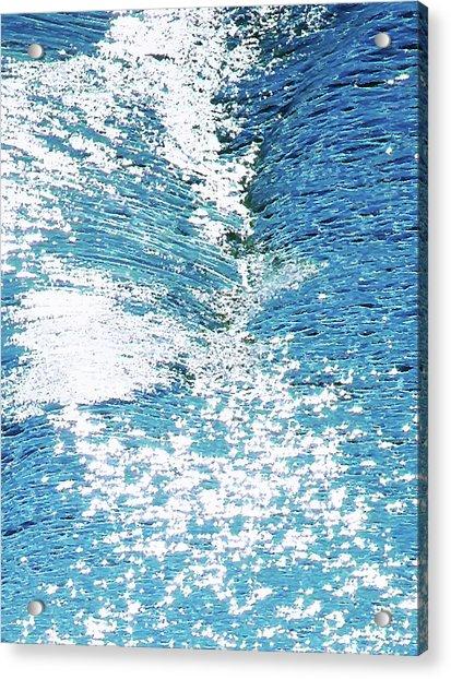 Hard Water Abstract Acrylic Print