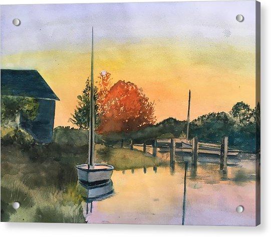 Harthaven Harbor, Mv Acrylic Print