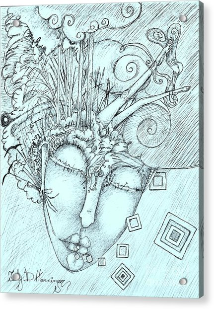Head Over Heals Acrylic Print