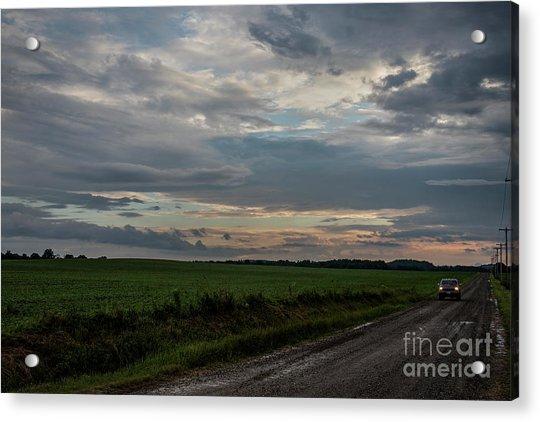 Heading Home Acrylic Print